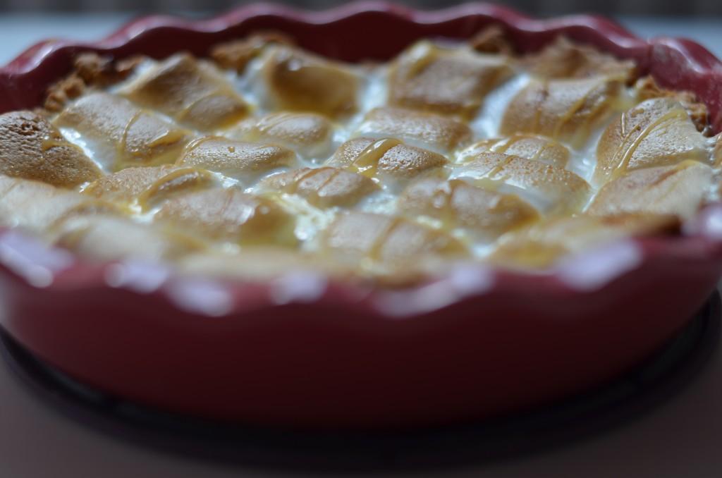 Lemon Curd-Marshmallow-Tarte